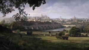 Puente Romana sobre el rio Guadalquivir